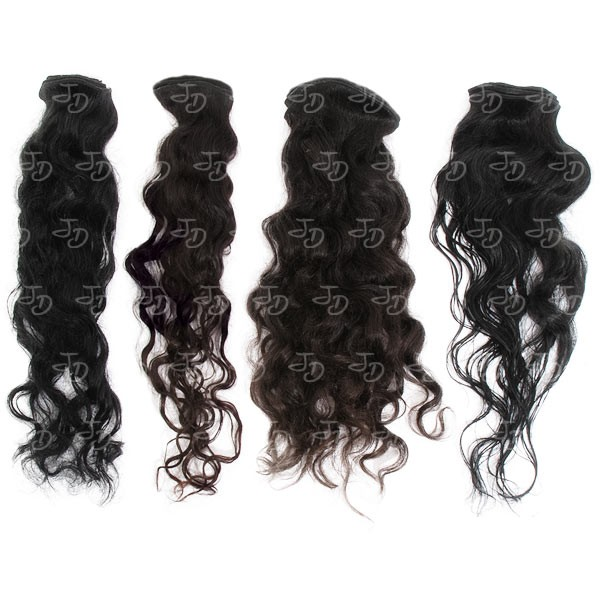Curly Weft Extensions 30