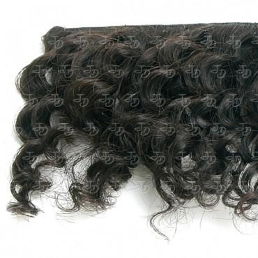 Extensiones de cortina súper curly