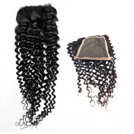 Postizo Natural Closure Curly