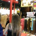 Extensiones de pelo natural de Justino Delgado en el Salón Look 2014