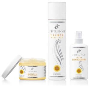 Kit para el cuidado de las extensiones de pelo natural