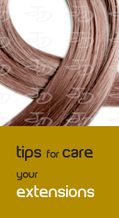 Tips for care your extensions