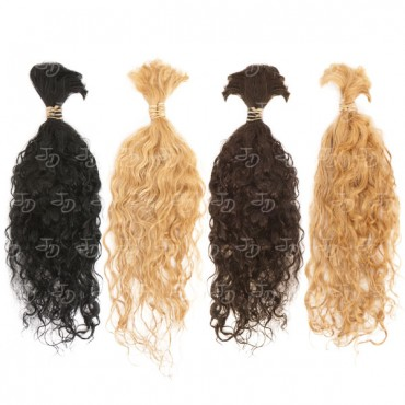 Loose curly hair extensions