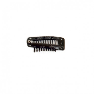 Clips for weft hair extensions (Triangular - 3,5 cm)