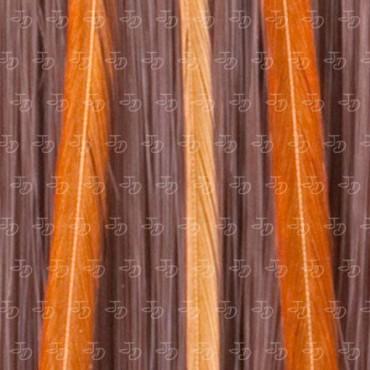 Plumas para el pelo naranja