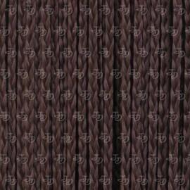 Trenzas de fibra en cortina