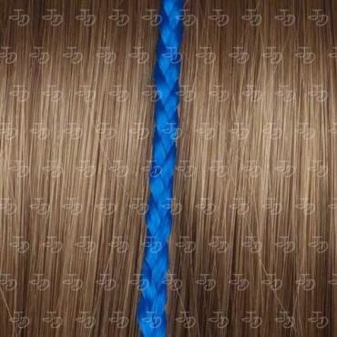 Trenza individual de fibra con queratina azulón kaf 7
