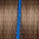 Trenza individual de fibra con queratina