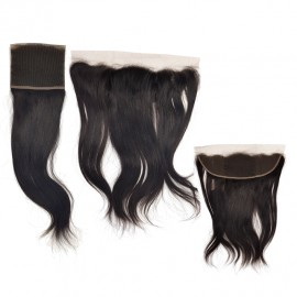 Extensiones de pelo natural FRONTAL LISO (10X33 CM.)