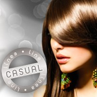 Real hair extensions Casual Line